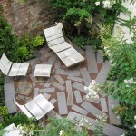 How to Lay Pavers for Contemporary Landscape with Pavers