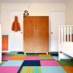 How to Remove Carpet Glue From Concrete for Contemporary Kids with White Beds