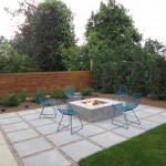 How to Remove Carpet Glue From Concrete for Contemporary Patio with Wood Fence