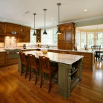 How to Restain Wood for Farmhouse Kitchen with Wood Cabinets