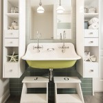 How to Unclog a Bathroom Sink for Beach Style Bathroom with Accent Wall