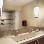 How to Unclog Drain for Modern Bathroom with Sconce