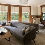 Howell Furniture for Modern Family Room with Mirror