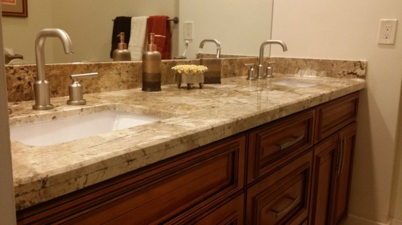 Hunters Run Boynton Beach for Traditional Spaces with Transitional Project Involved One of a Kind Counter Material