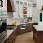 Huppe for Transitional Kitchen with Open Shelving
