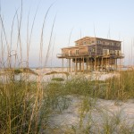 Hurricane Proof House for Rustic Exterior with Island
