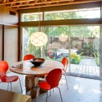 Ikea Besta for Contemporary Dining Room with Sliding Glass Doors