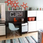 Ikea Besta for Contemporary Kids with Desk
