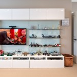 Ikea Besta for Transitional Kids with White Molding