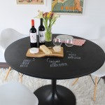 Ikea Bjursta Table for Eclectic Dining Room with White Shag Rug