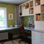 Ikea College Park for Transitional Home Office with Table Lamp