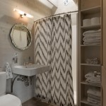 Ikea Curtain Rods for Rustic Bathroom with Square Sink