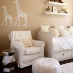 Ikea Hemnes for Contemporary Nursery with Wall Art