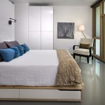 Ikea Kura Bed for Modern Bedroom with Reading Lamp