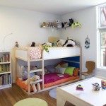 Ikea Kura Bed for Modern Kids with Open Shelving