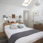 Ikea Malm Bed for Contemporary Bedroom with Baseboards
