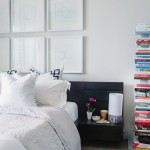 Ikea Malm Bed for Contemporary Bedroom with Master Bedroom