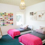 Ikea Malm Bed for Eclectic Kids with Colorful
