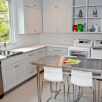 Ikea Mandal for Contemporary Laundry Room with Tile Floor