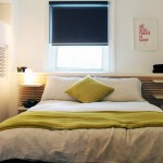 Ikea Mandal for Transitional Bedroom with Colorful