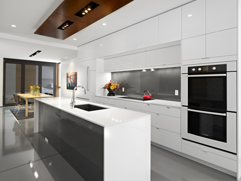 Ikea Ps Cabinet for Contemporary Kitchen with Cooktop