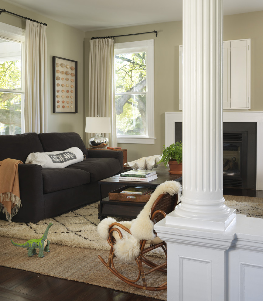 Ikea Rugs Usa for Traditional Living Room with Dark Floor