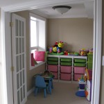 Ikea Trofast for Traditional Kids with Playroom Storage