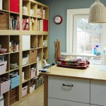 Ikea Varde for Contemporary Home Office with Wood Flooring