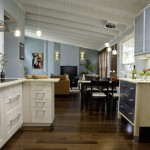 Ikea Varde for Contemporary Kitchen with Hardwood