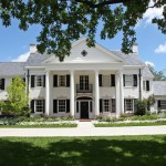 Ionic Columns for Traditional Exterior with Hull Homes