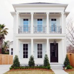 Ionic Columns for Traditional Exterior with Ionic Columns