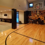 Iowa Realty Des Moines Iowa for Modern Home Gym with Clerestory Windows