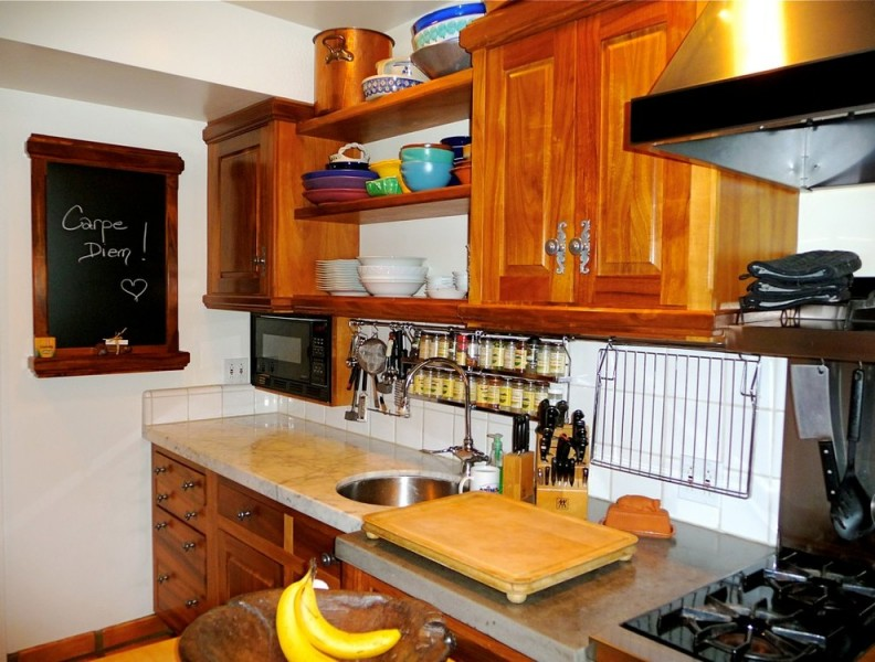 Ipic Westwood for Traditional Kitchen with Wall Spice Rack