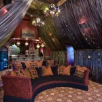 Jacksonville Theater for Eclectic Home Theater with Moroccan Chandeliers