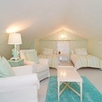 Jaqua Realtors for Beach Style Bedroom with Green Comforters