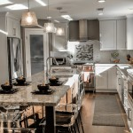 Jarvis Appliances for Traditional Kitchen with Spring White Granite
