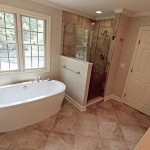 Jason Tubs for Traditional Bathroom with Shower Door