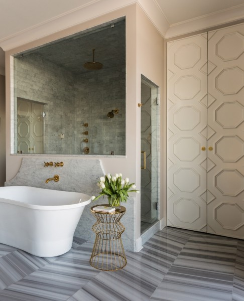 Jason Tubs for Transitional Bathroom with Lacquer