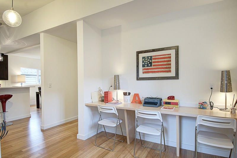 Jasper Johns Flag for Transitional Kids with Mdf