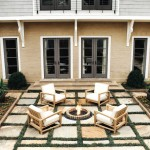 Jeld Wen Doors for Traditional Patio with Fire Pit