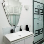 Jemco for Contemporary Bathroom with White Wall