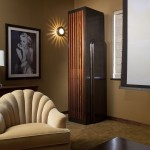 Jemco for Eclectic Home Theater with Wall Art