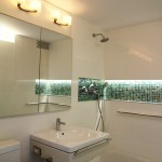 Jesco Lighting for Contemporary Bathroom with Living Space