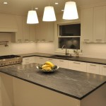 Jet Mist Granite for Contemporary Kitchen with Contemporary