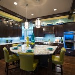 Jimmy Jacobs Homes for Traditional Kitchen with Glass Cabinet Door