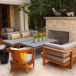 John Paras Furniture for Contemporary Landscape with Yellow