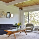 John Paras Furniture for Midcentury Living Room with One Story
