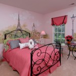 John Paras Furniture for Traditional Kids with French Mural