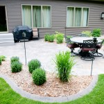 Jordahl Custom Homes for Traditional Patio with Lawn