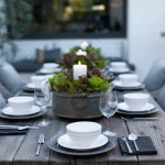 Katonah Hardware for Contemporary Patio with Outdoor Table